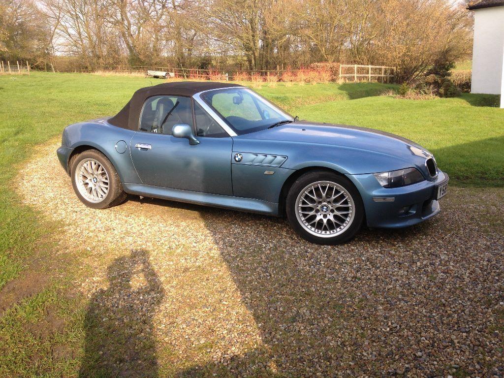 Bmw Z3 2 2 Blue 54000 Miles Manual In Sudbury Suffolk