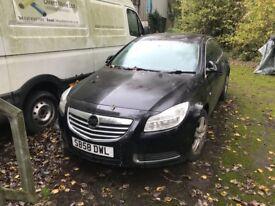 Vauxhall INSIGNIA 58reg. spares or repair