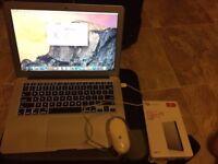 Mac Air i5 128gb +new 2Tb hard Drive + mouse +bag £450 ONO