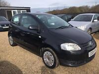 VW FOX 1.2 2009 BLACK IDEAL FIRST CAR CHEAP INSURANCE WARRANTY AVAILABLE