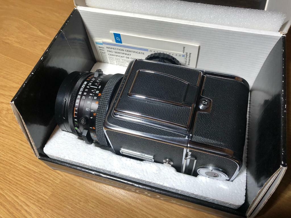 Hasselblad 500cm Carl Zeiss 80mm f2 8   in Reading, Berkshire   Gumtree