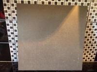 Grey porcelain floor/wall tiles