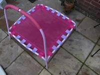Children's first trampoline