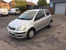TOYOTA YARIS 1.0 LOW*MILEAGE*39k ONE OWNER FROM NEW 2003