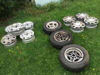 Ford Capri escort xr4i Sierra consul cortina wheels