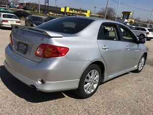 2010 Toyota Corolla S -PKG Alloys Sunroof Power PKG Kitchener / Waterloo Kitchener Area image 8