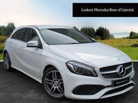 Mercedes-Benz A Class A 220 D AMG LINE PREMIUM (white) 2016-05-31