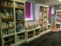 Shop Retail Oak Boutique Shelves Units