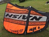 Naish Park 6M 2014 Kite and bag only £300