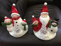 Christmas light up ornaments