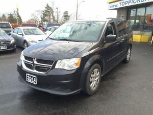 2014 Dodge Grand Caravan SXT, alloys, rear a/c, sto n go, blueto