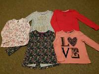 Girl's 4-5 years clothes bundle