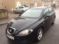 Seat leon reference sport car tdi 6 speed 140 bhp 6 speed damage to body bargain £850 export