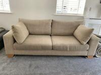 Next Sonoma large 3 seater sofa