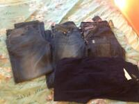 Men's jeans super dry and duck and cover