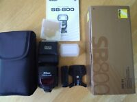NIKON SB800 Speedlight