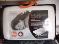 Dormeo Octaspring anatomic pillow, new & still in packaging