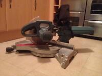 Erbaur 10 inch sliding compound mitre saw with laser