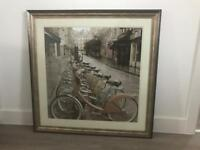 Large Print in Bronze Frame