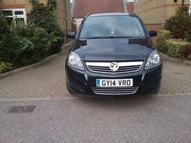 VAUXHALL ZAFIRA 2014 REG VERY LOW MILEAGE ONLY 14K FULL HISTORY 1 REGISTERED OWNER
