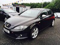 2012 SEAT Leon FR Plus 170, 12 Months warranty Finance available £217 per month