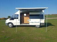 Discounted - Quick Sale - ONO - Ford Transit Camper Van / Motorhome - 12 months MOT
