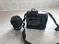 Nikon d300 with sigma lens
