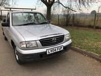 Mazda b2500 s/cab pickup 2004 only 36000 miles from new