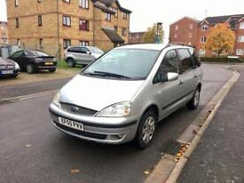 2006 Ford Galaxy 1.9 Tdi – Diesel, Manual, 7 Seater, 5 Door, NEW 12 MONTHS MOT, Silver, Low Miles