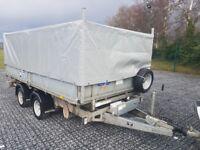 IFOR WILLIAMS TIPPER TRAILER TIPPING TT 126 FLAT BED DROP SIDE FULL MESK KIT RAMPS PROPS LANDSCAPE