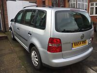VW Touran 1.9 Tdi 7 seater