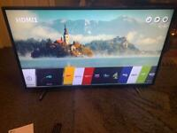 "LG 49"" 4K UHD smart tv"