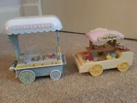 Sylvanian Family Ice Cream stand and toy stall