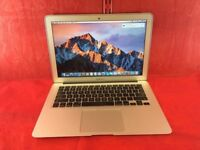 "MACBOOK AIR 13"" i5 4GB RAM 128SSD-2013-FIXED PRICE-collection from shop E14 9AP-L369"