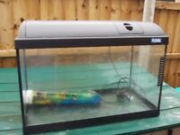 fluval 2ft fish tank/aquarium