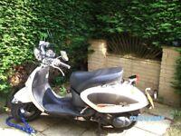 Aprilla Mojito Custom 125cc retro Scooter / Reg: 2005 / 12K miles