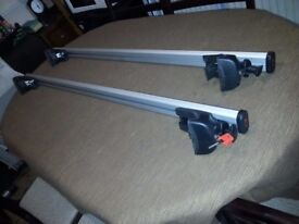 Brand New Roof Bars - Stylish, High-Strength & Light-Weight For vehicles with Raised Roof Rails