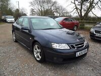 2006 SAAB 9-3 VECTOR 1.9 TID--TOWPACK-MOT-136K,10 STAMPS-CRUISE-CLIMATE-ETC