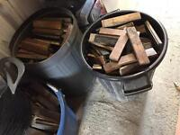 Parquet flooring solid wood