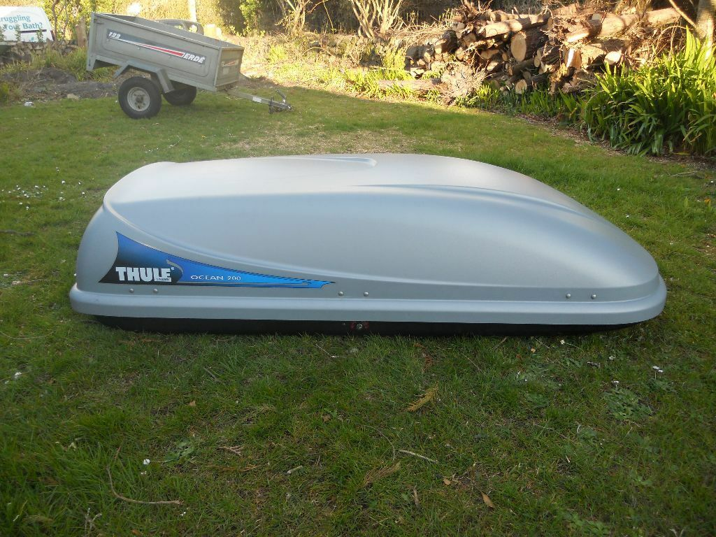 thule ocean 200 roof box in redruth cornwall gumtree. Black Bedroom Furniture Sets. Home Design Ideas