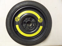 Space Saver wheel for 4 stud Volkswagen Golf Polo