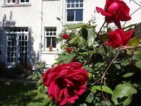 Unique 1 Bedroom Garden Flat for long term let in the heart of Duddingston Village