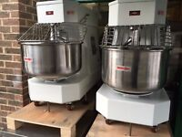 NEW 50 LT DOUGH MIXER ,CATERING COMMERCIAL ,PIZZA BAKERY PATISSERIE ROTI NAN BREAD LAHMACUN SHOP