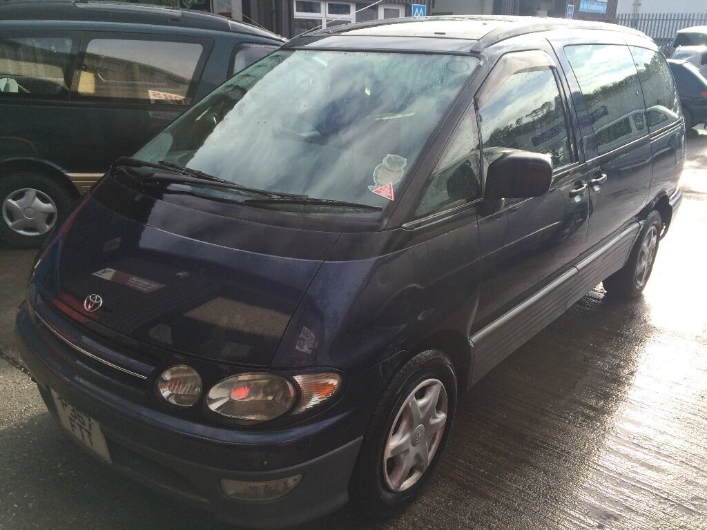Toyota Estima Lucida 2.2 TD Auto 7 Seater with DISABLED ACCESS chair