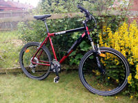 Mountain bike SWAP for fish tank