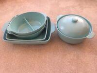 5 Piece Linda Barker Caserole/Pyrex Dishes