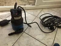 Submersible water pump DRAPER
