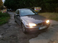 ++++QUICKSALE AUTOMATIC BULLETPROOF BMW 318+++WITH MOT STARTS AND DRIVES GOOD++++