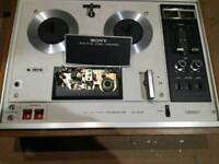 Sony tc270 reel to reel tape recorder