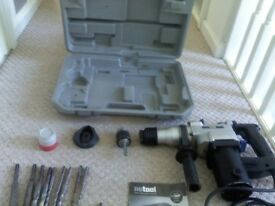 NU TOOL NPT655 ROTARY HAMMER DRILL WITH ALL COMPONENTS